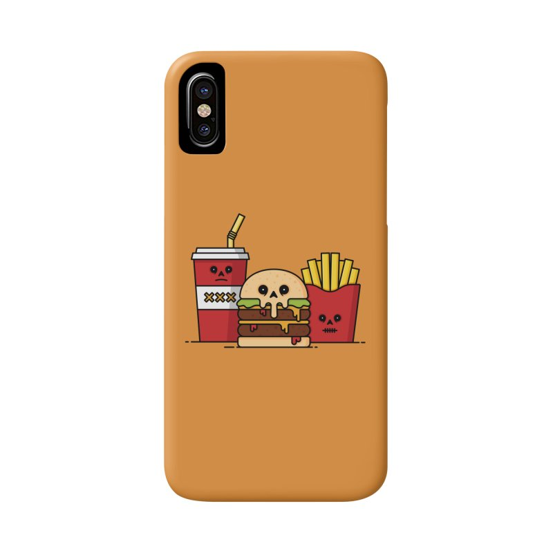 Unhappy Meal Accessories Phone Case by Tony Bamber's Shop