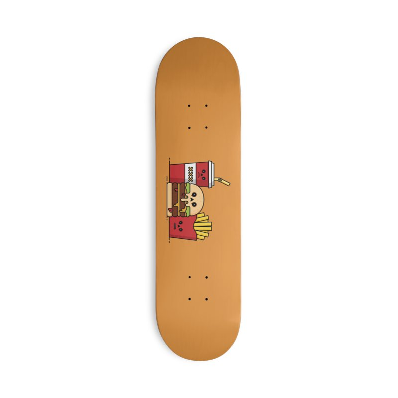 Unhappy Meal Accessories Deck Only Skateboard by Tony Bamber's Shop
