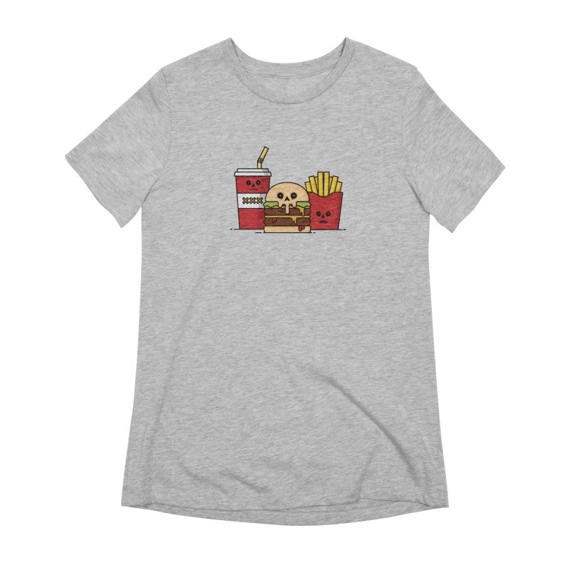 Unhappy Meal Women's Extra Soft T-Shirt by Tony Bamber's Shop