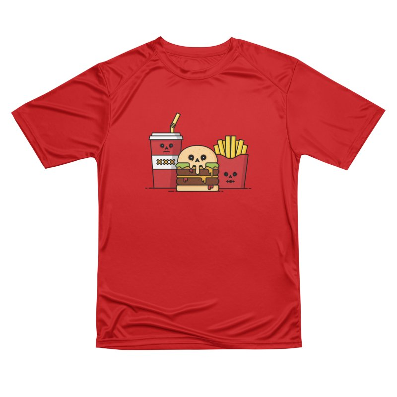 Unhappy Meal Men's Performance T-Shirt by Tony Bamber's Shop