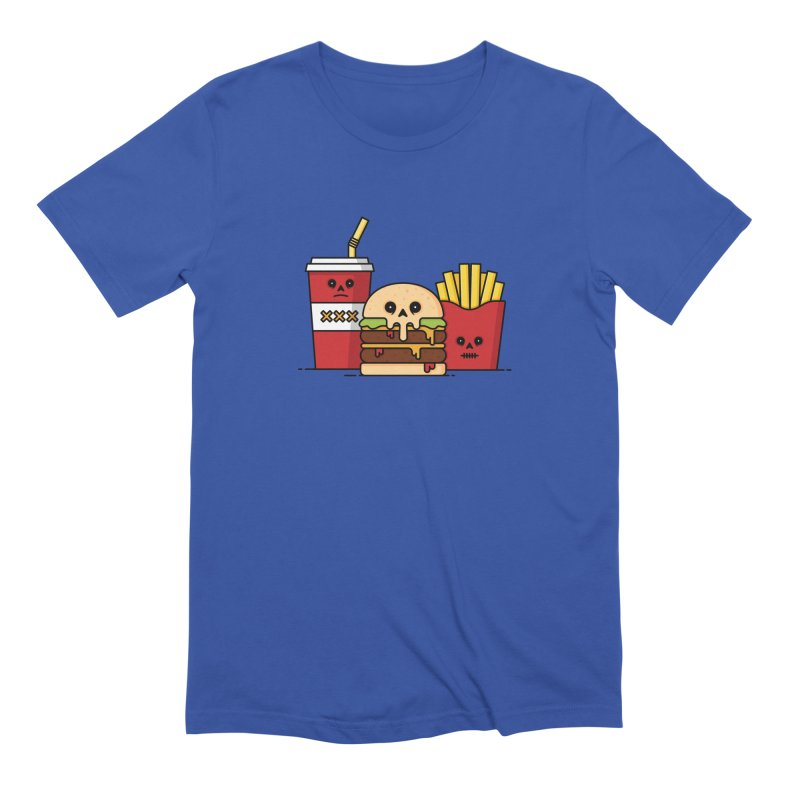 Unhappy Meal Men's Extra Soft T-Shirt by Tony Bamber's Shop