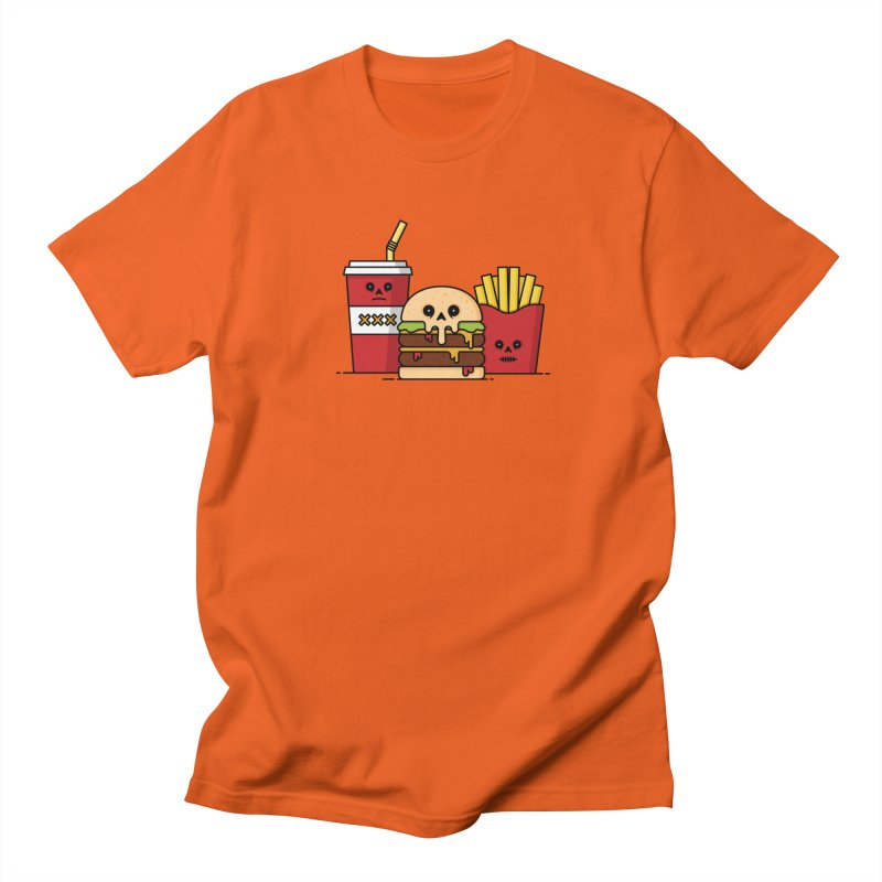 Unhappy Meal Men's T-Shirt by Tony Bamber's Shop