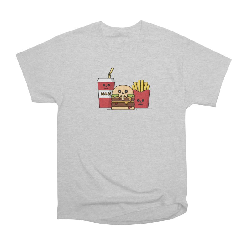 Unhappy Meal Men's Heavyweight T-Shirt by Tony Bamber's Shop
