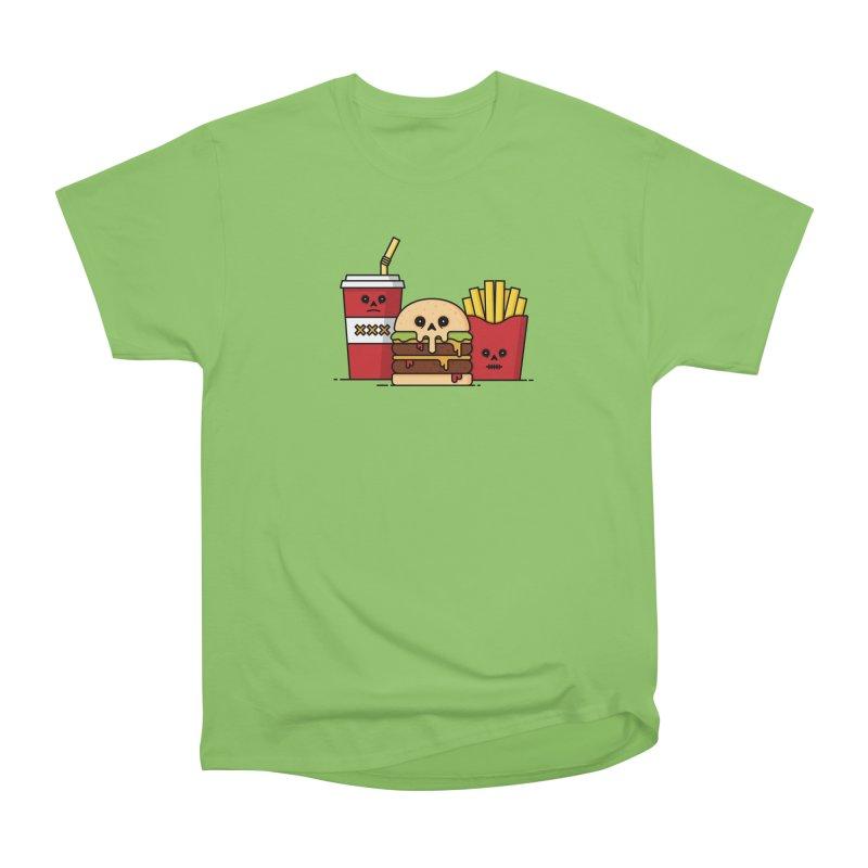 Unhappy Meal Women's Heavyweight Unisex T-Shirt by Tony Bamber's Shop
