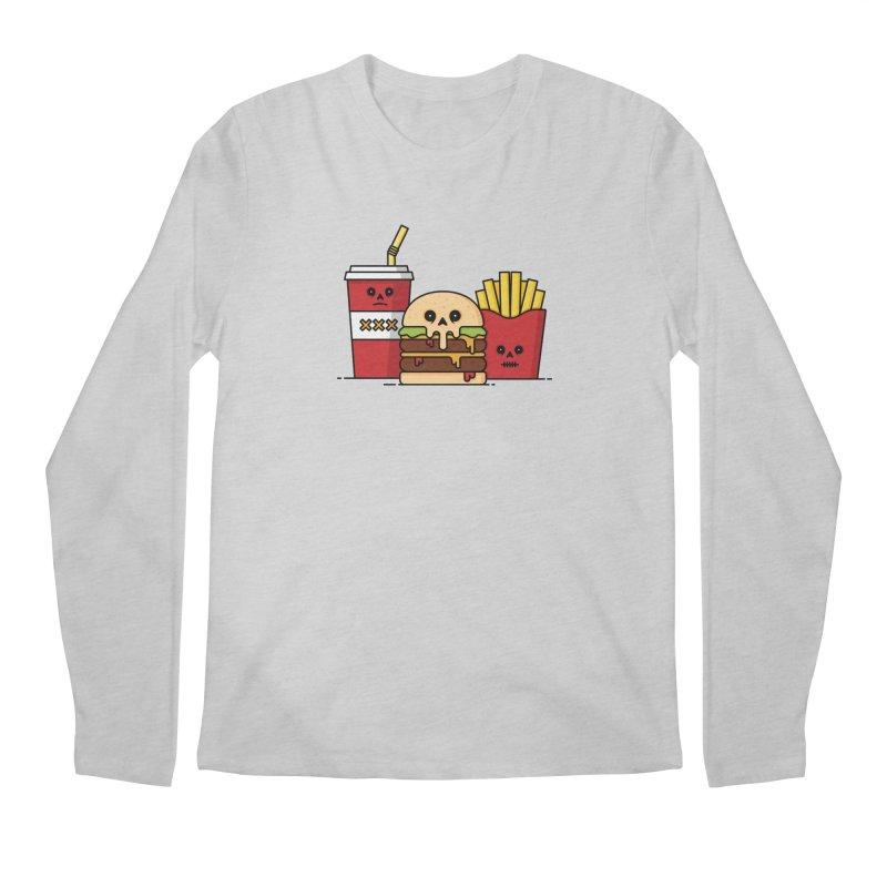 Unhappy Meal Men's Regular Longsleeve T-Shirt by Tony Bamber's Shop