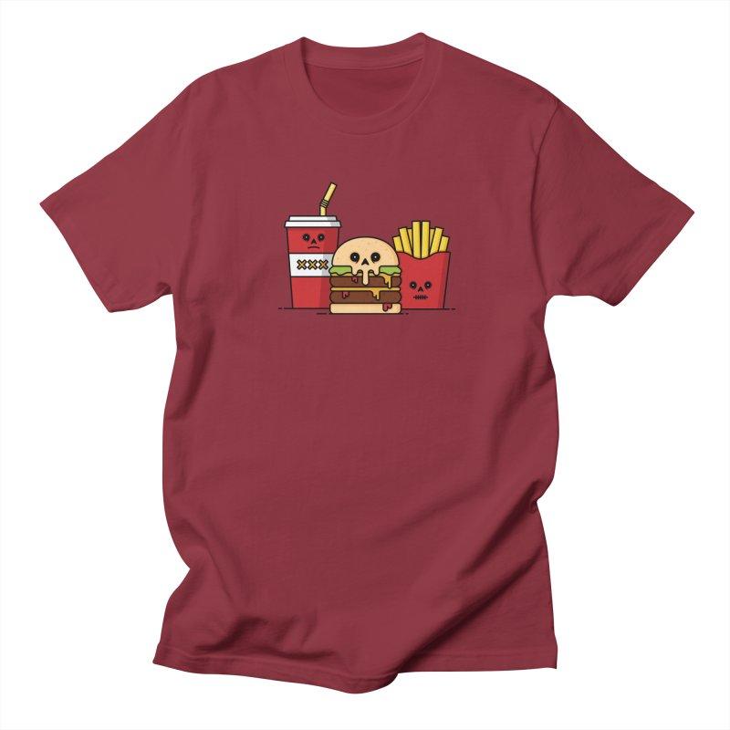 Unhappy Meal Women's Regular Unisex T-Shirt by Tony Bamber's Shop