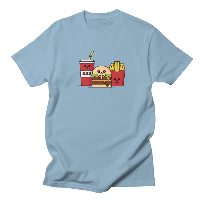 Unhappy Meal Women's Regular Unisex T-Shirt by Tony Bamber's Shop