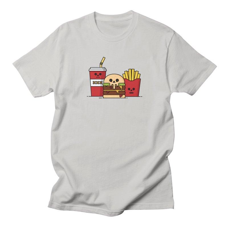 Unhappy Meal Men's Regular T-Shirt by Tony Bamber's Shop