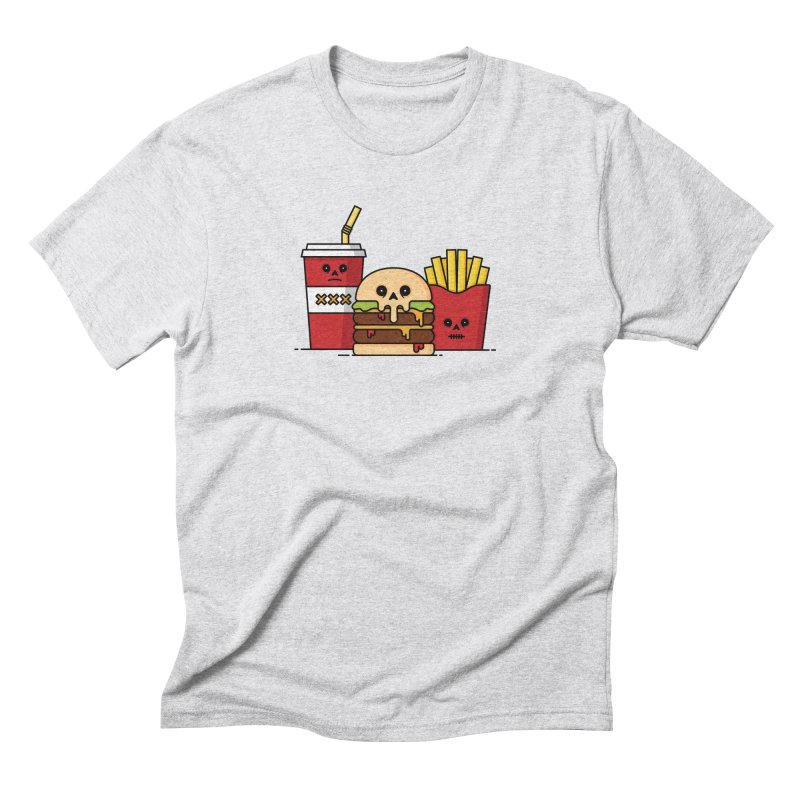 Unhappy Meal Men's Triblend T-Shirt by Tony Bamber's Shop