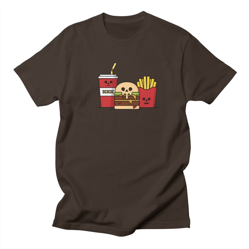Unhappy Meal Men's Regular T-Shirt by Tony Bamber's Shop
