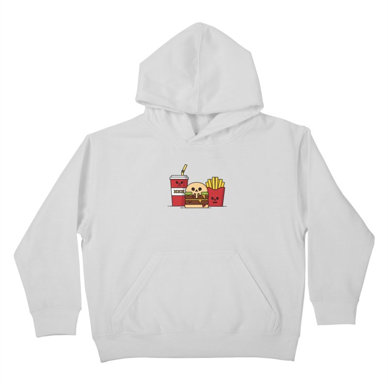 Unhappy Meal Kids Pullover Hoody by Tony Bamber's Shop
