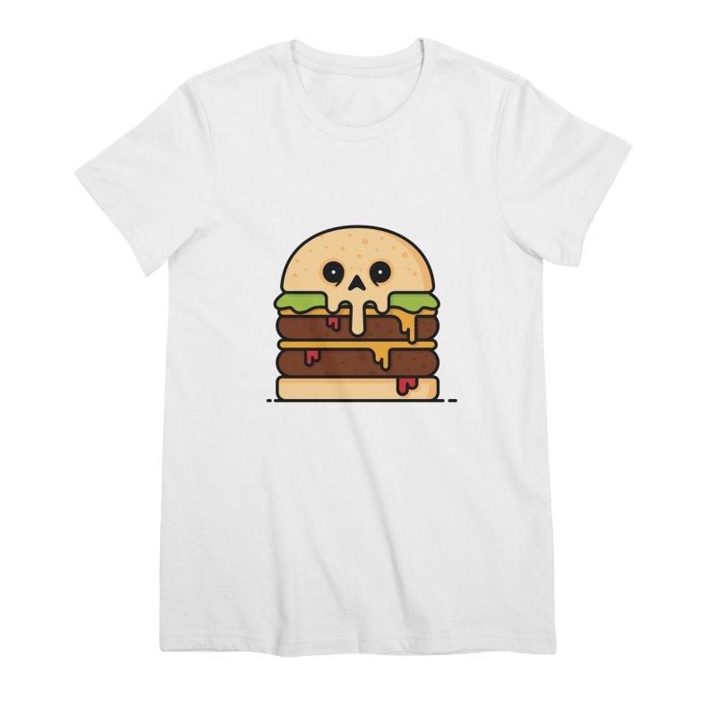 Burger Women's Premium T-Shirt by Tony Bamber's Shop
