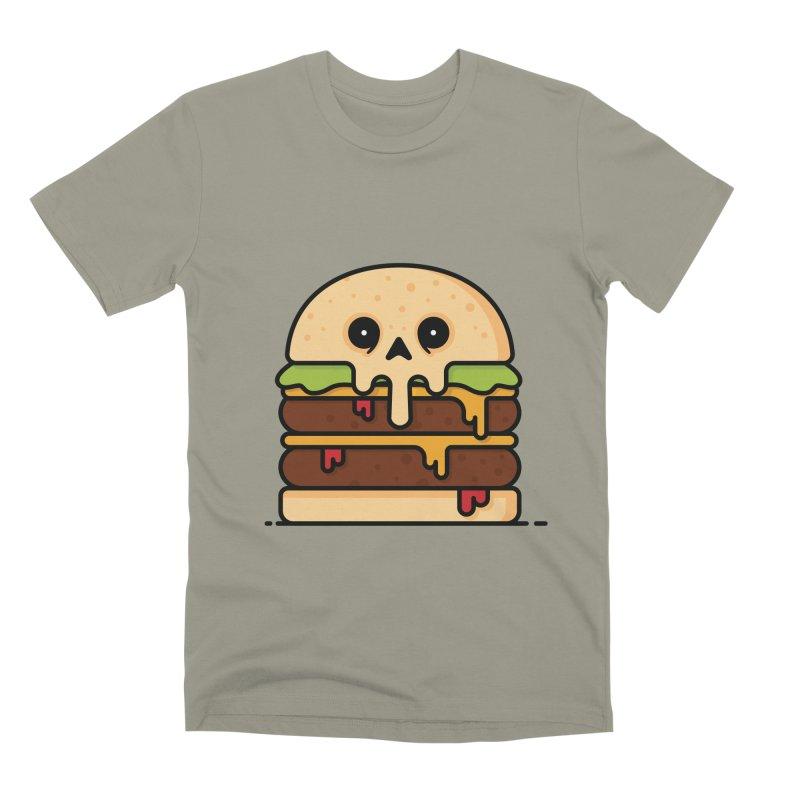 Burger Men's Premium T-Shirt by Tony Bamber's Shop