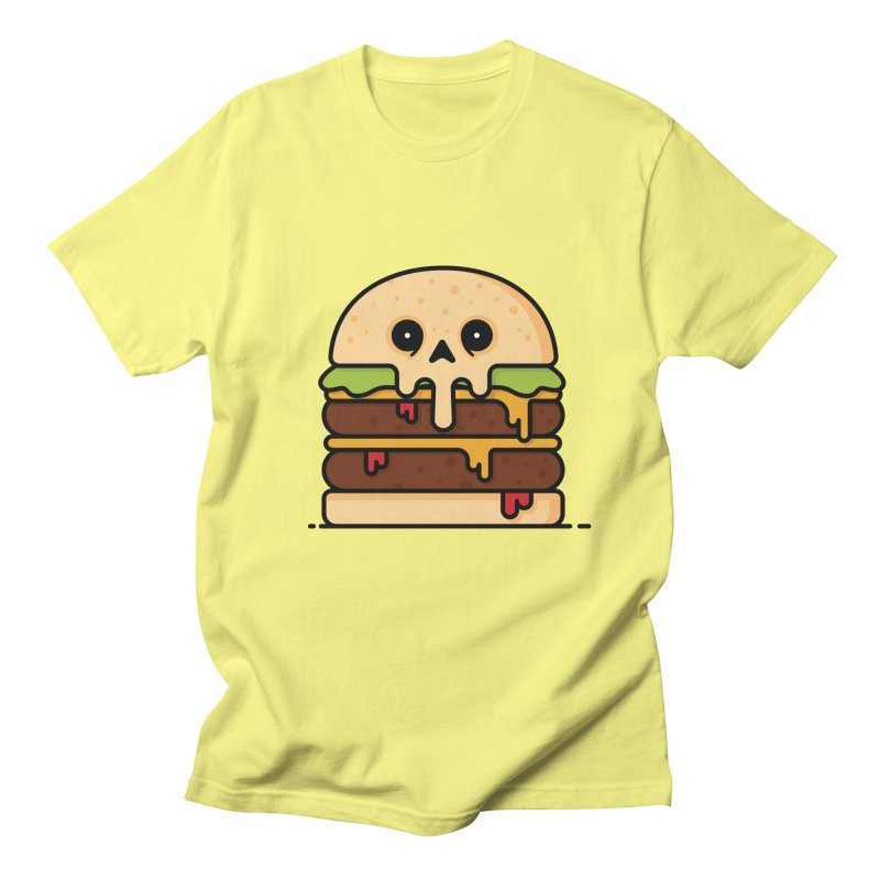 Burger Women's Regular Unisex T-Shirt by Tony Bamber's Shop