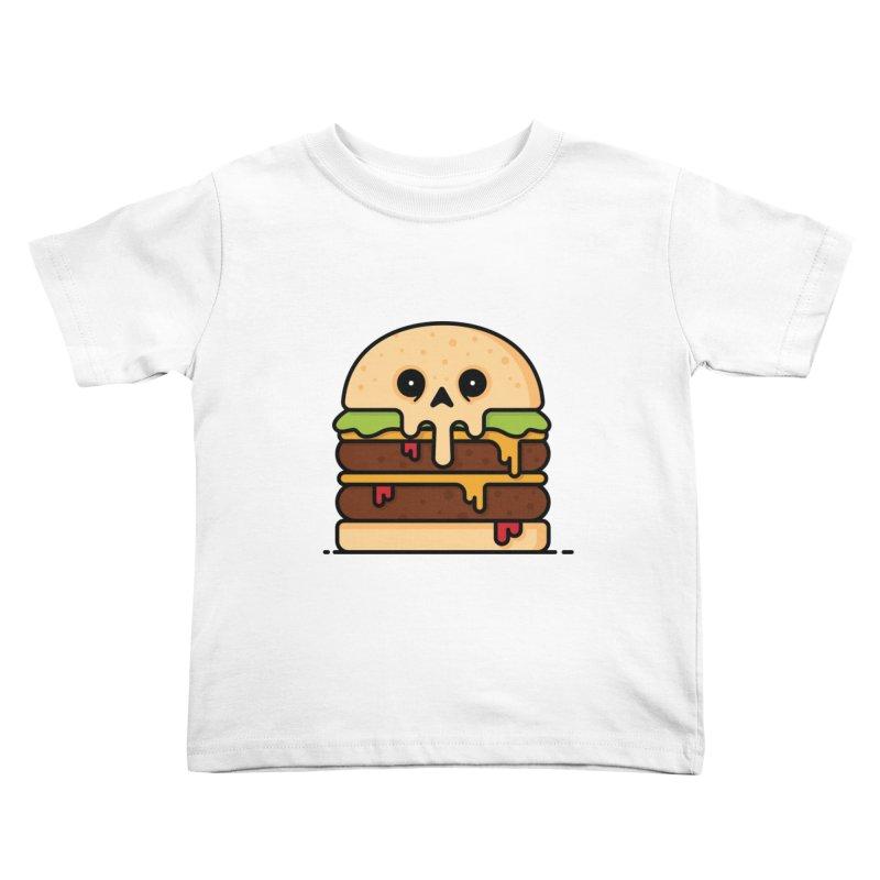 Burger Kids Toddler T-Shirt by Tony Bamber's Shop
