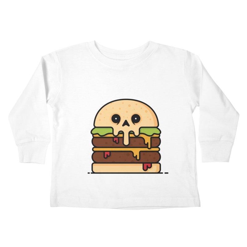 Burger Kids Toddler Longsleeve T-Shirt by Tony Bamber's Shop