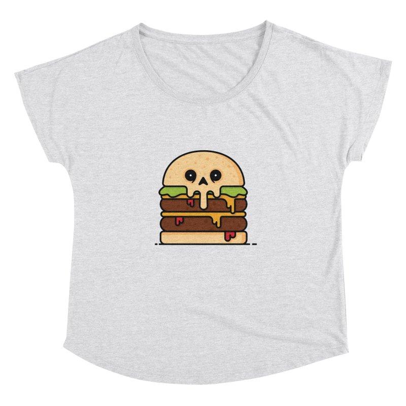 Burger Women's Dolman Scoop Neck by Tony Bamber's Shop