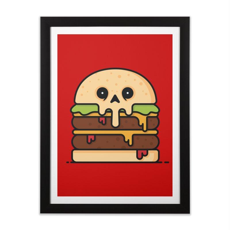 Burger Home Framed Fine Art Print by Tony Bamber's Shop