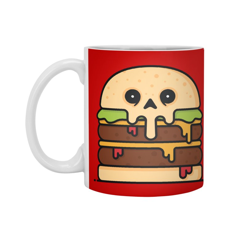 Burger Accessories Standard Mug by Tony Bamber's Shop