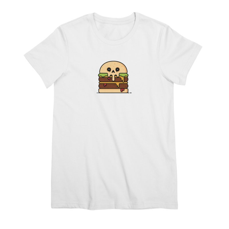 Burger Women's Premium T-Shirt by Tony Bamber's Shop