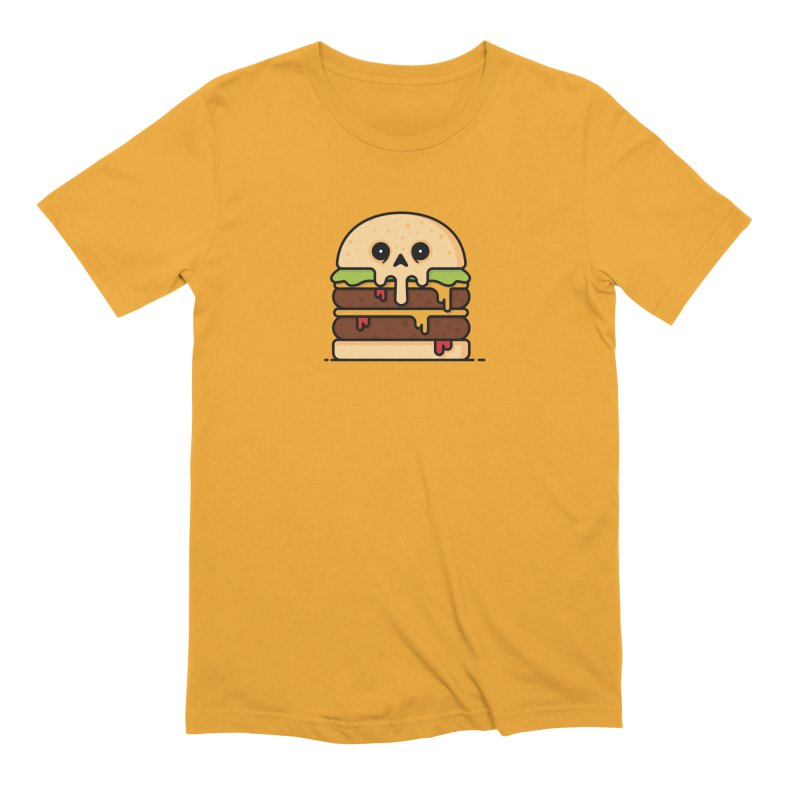 Burger Men's Extra Soft T-Shirt by Tony Bamber's Shop