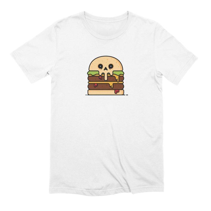 Burger Men's Extra Soft T-Shirt by Tony Bamber's Shop