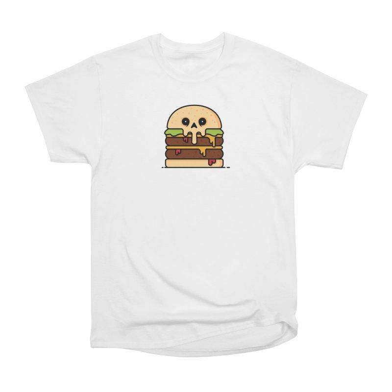 Burger Women's Heavyweight Unisex T-Shirt by Tony Bamber's Shop