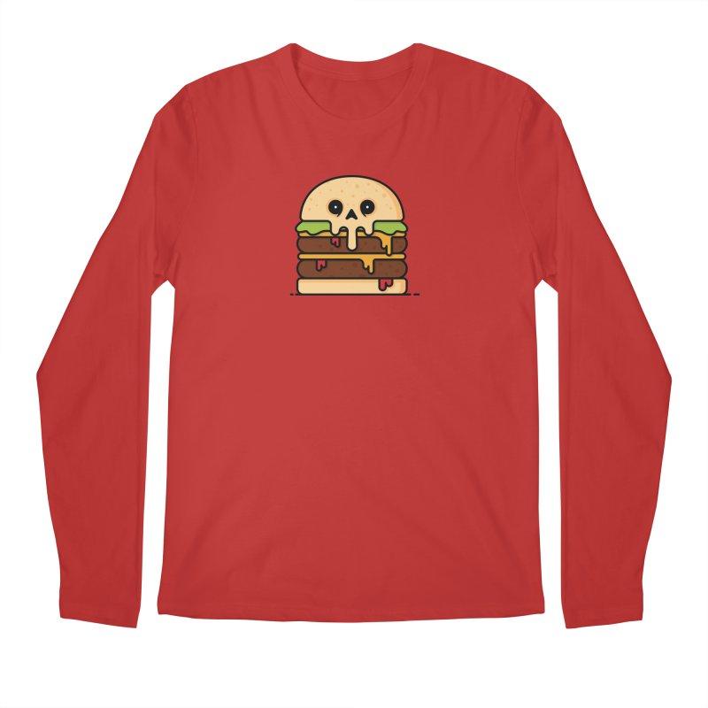 Burger Men's Longsleeve T-Shirt by Tony Bamber's Shop