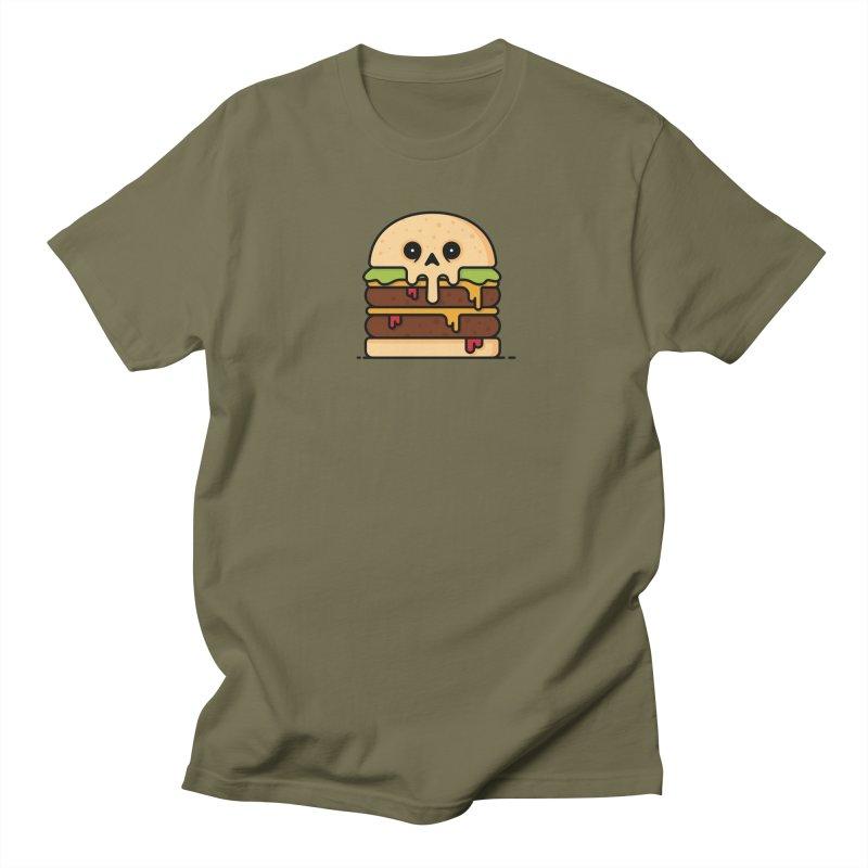 Burger Men's Regular T-Shirt by Tony Bamber's Shop