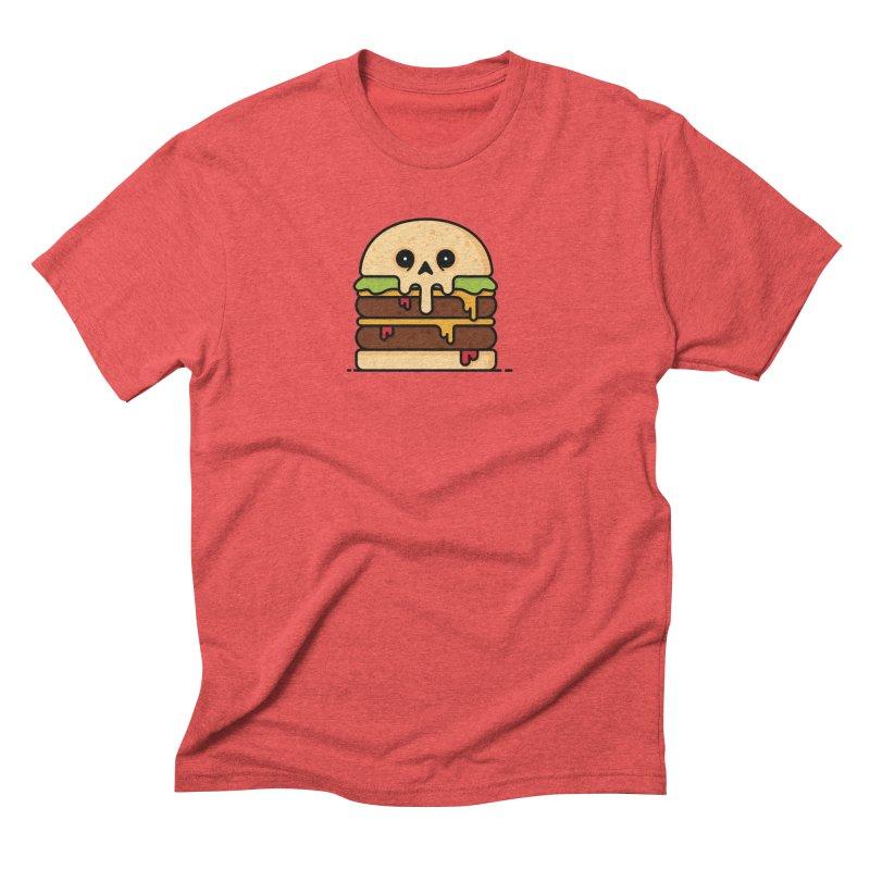 Burger Men's Triblend T-Shirt by Tony Bamber's Shop