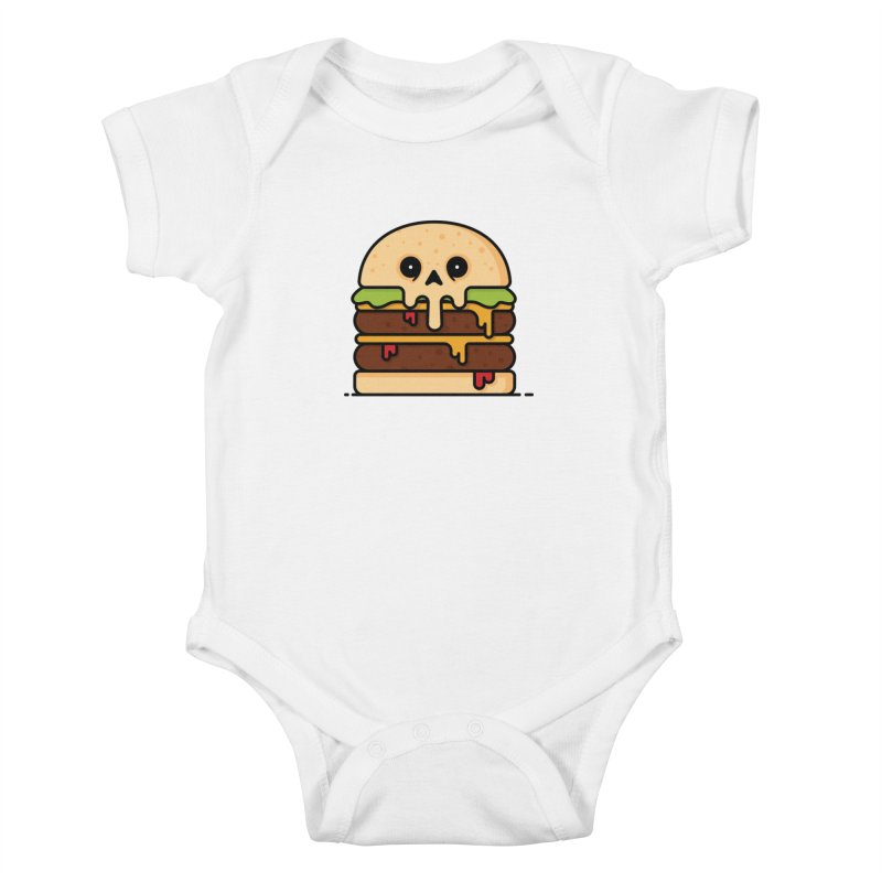 Burger Kids Baby Bodysuit by Tony Bamber's Shop