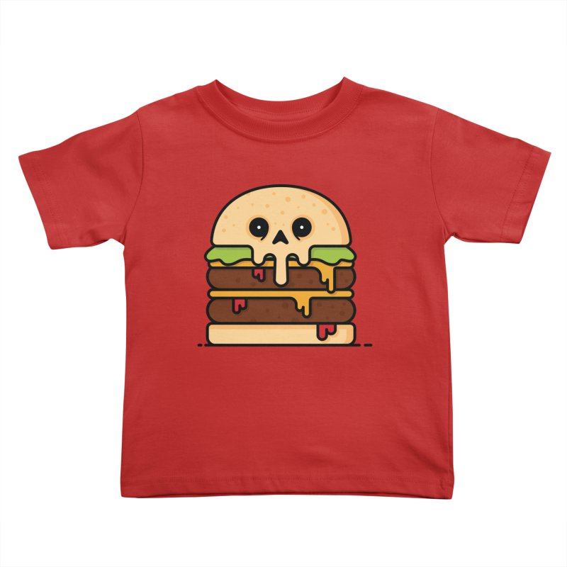 Burger Kids Toddler T-Shirt by Tony Bamber's Shop