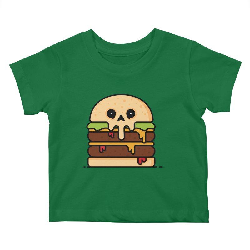 Burger Kids Baby T-Shirt by Tony Bamber's Shop