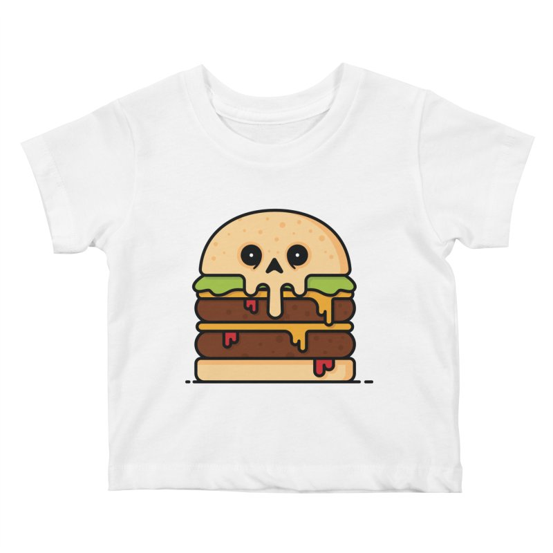 Burger Kids Baby T-Shirt by Tony Bamber's Shop