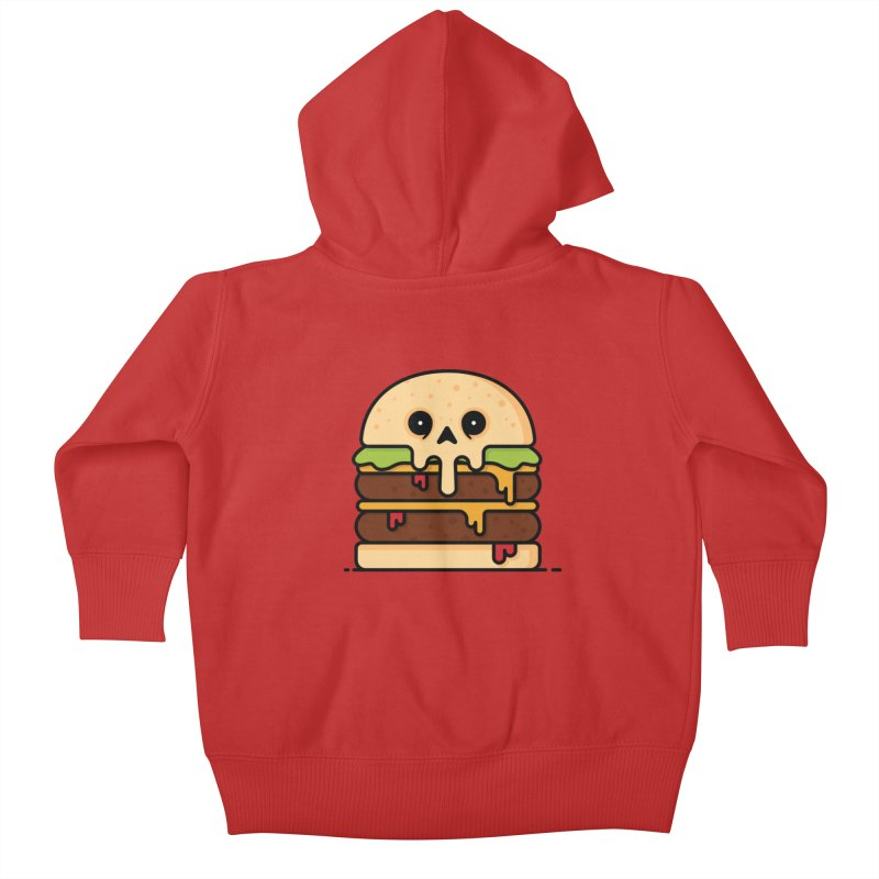 Burger Kids Baby Zip-Up Hoody by Tony Bamber's Shop