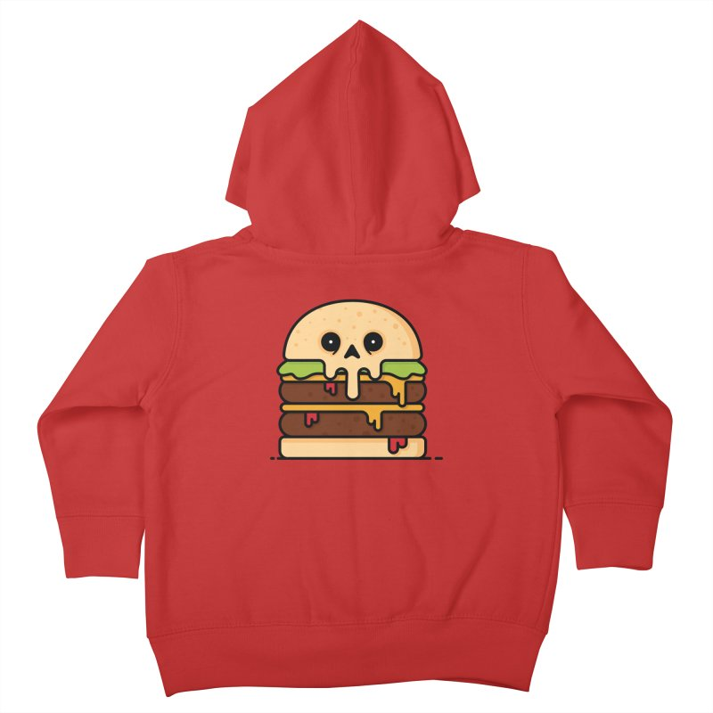 Burger Kids Toddler Zip-Up Hoody by Tony Bamber's Shop