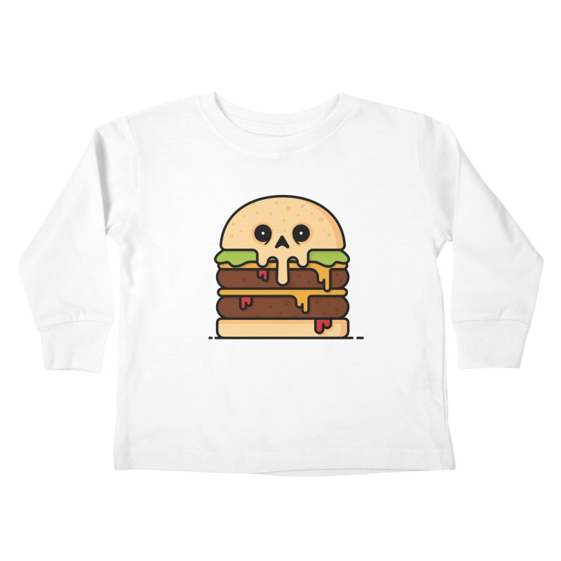 Burger Kids Toddler Longsleeve T-Shirt by Tony Bamber's Shop