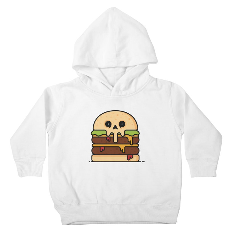 Burger Kids Toddler Pullover Hoody by Tony Bamber's Shop