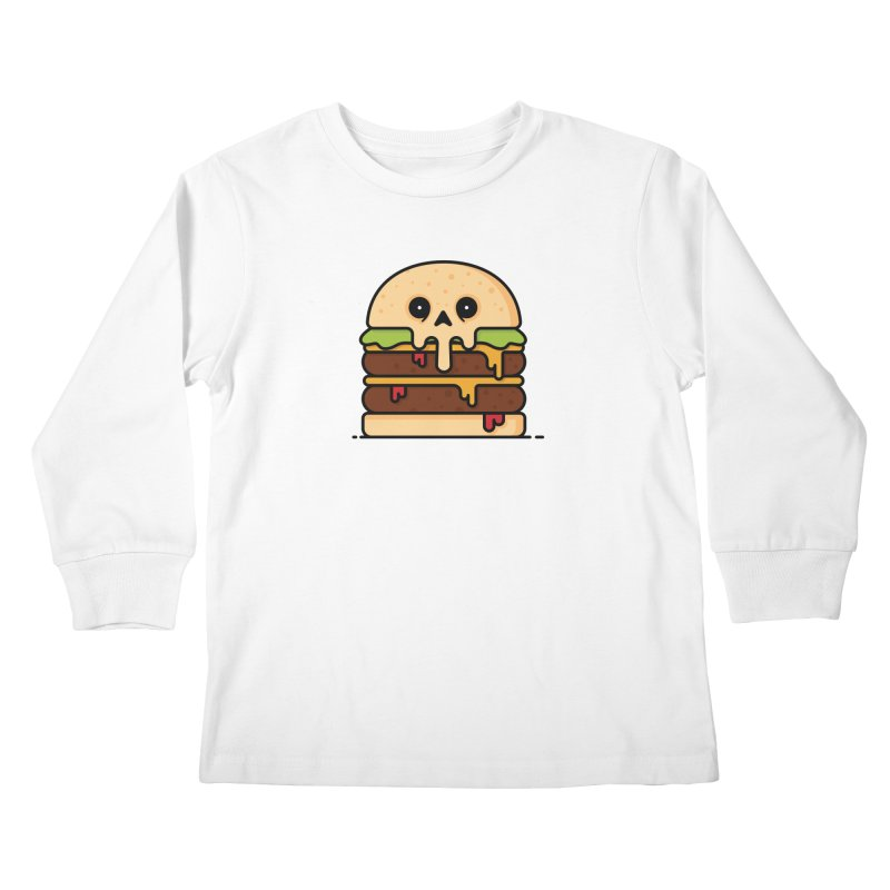 Burger Kids Longsleeve T-Shirt by Tony Bamber's Shop