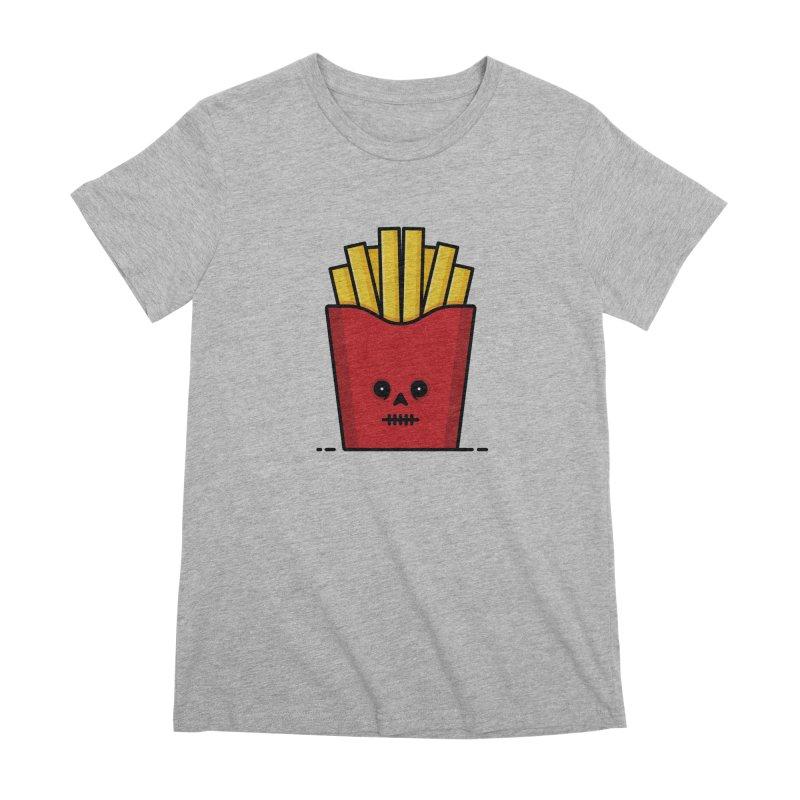 Fries Women's Premium T-Shirt by Tony Bamber's Shop