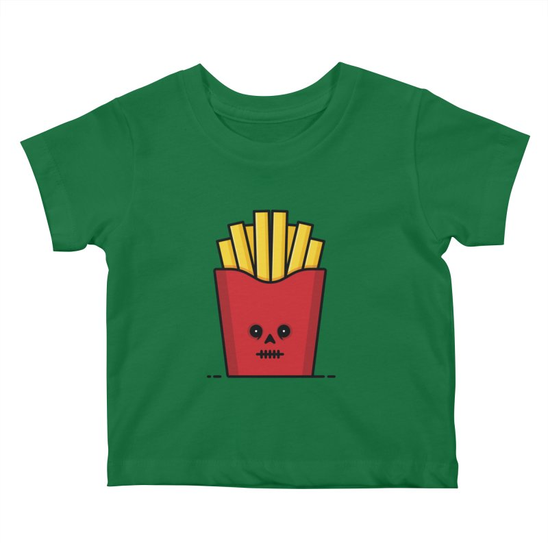 Fries Kids Baby T-Shirt by Tony Bamber's Shop