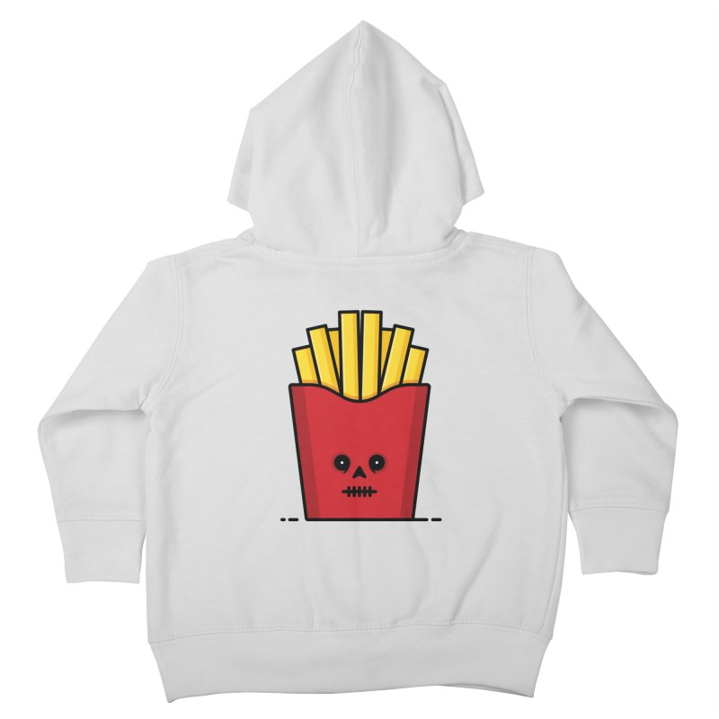 Fries Kids Toddler Zip-Up Hoody by Tony Bamber's Shop