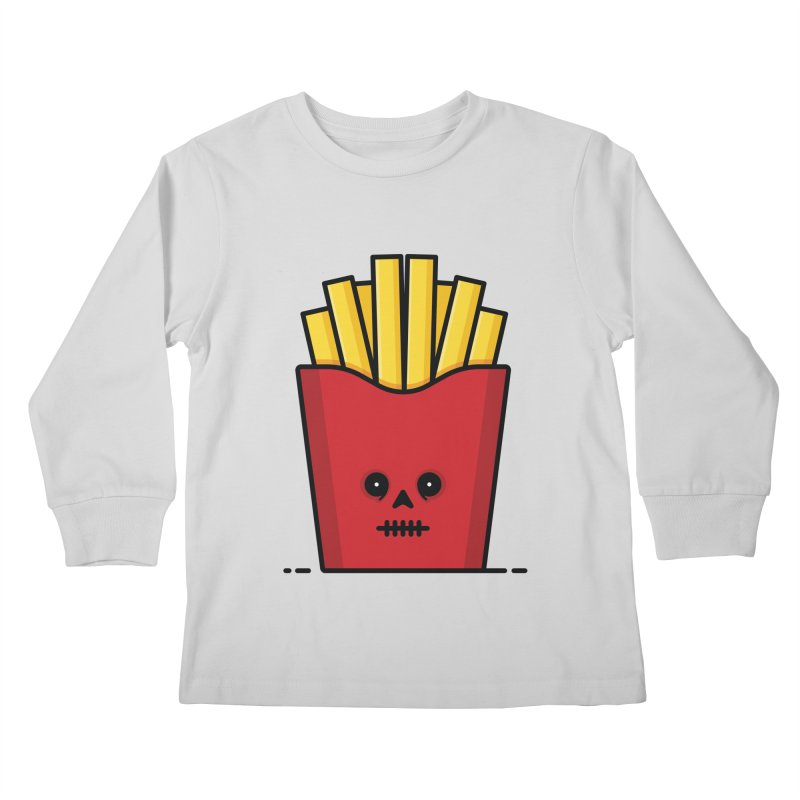 Fries Kids Longsleeve T-Shirt by Tony Bamber's Shop