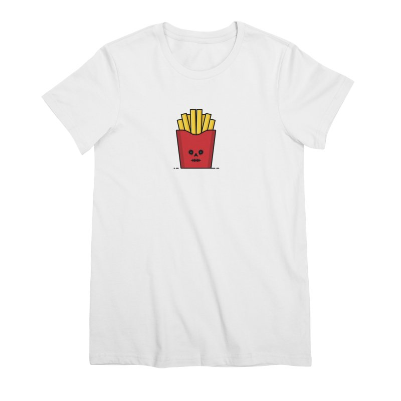 Fries Women's Premium T-Shirt by Tony Bamber's Shop