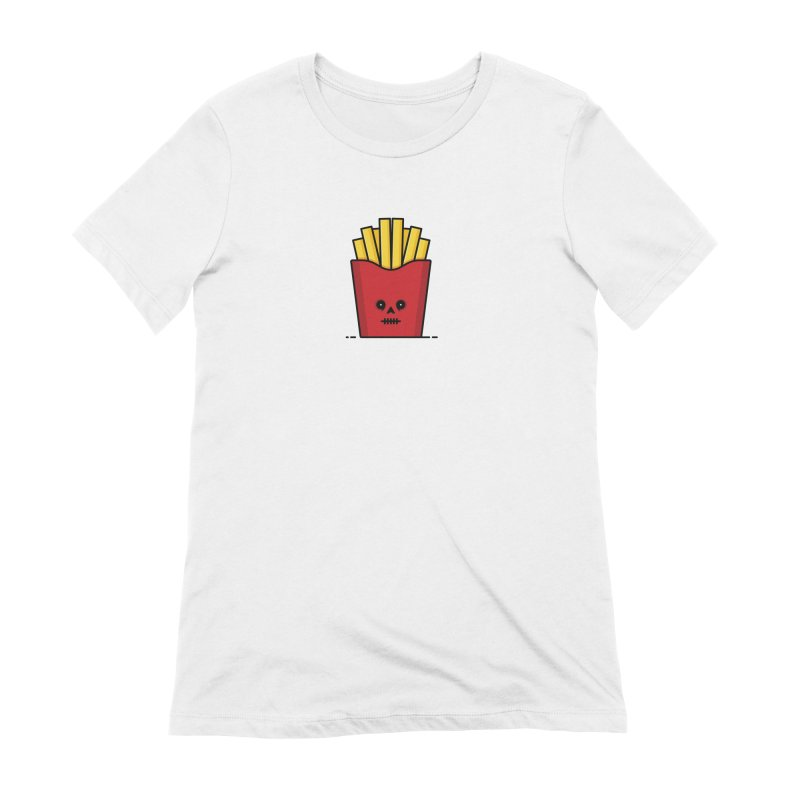 Fries Women's Extra Soft T-Shirt by Tony Bamber's Shop