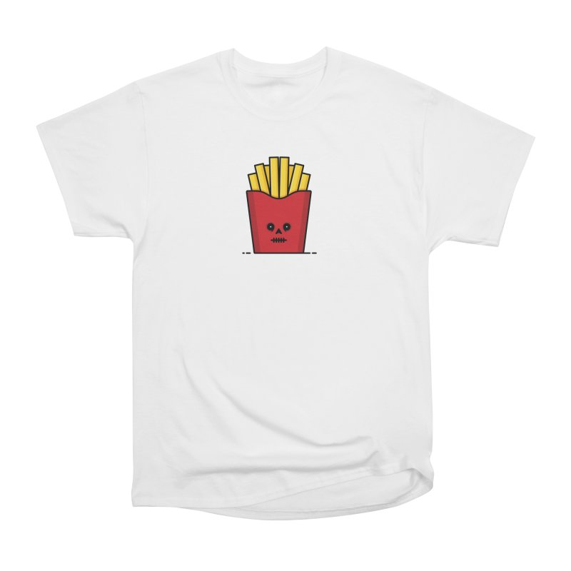 Fries Women's Heavyweight Unisex T-Shirt by Tony Bamber's Shop