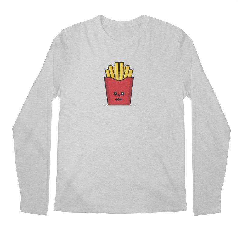 Fries Men's Regular Longsleeve T-Shirt by Tony Bamber's Shop