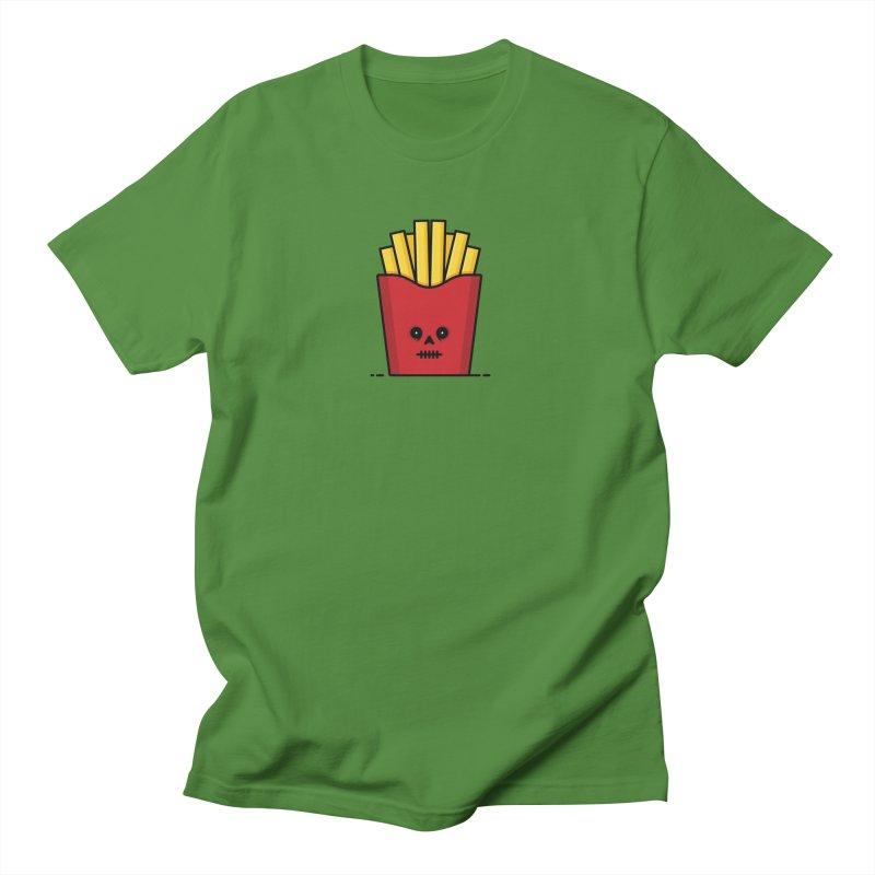Fries Men's Regular T-Shirt by Tony Bamber's Shop