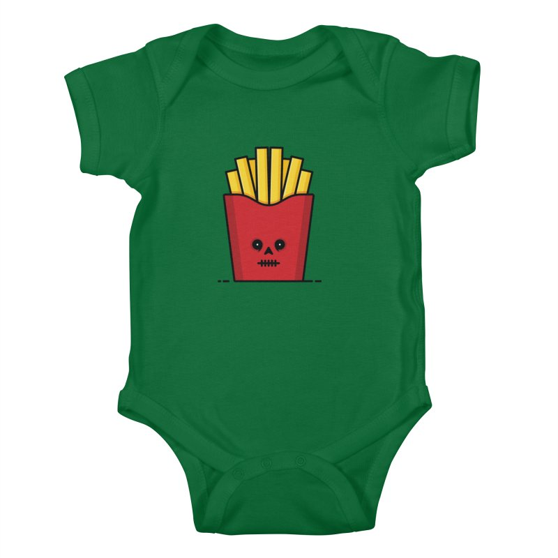 Fries Kids Baby Bodysuit by Tony Bamber's Shop