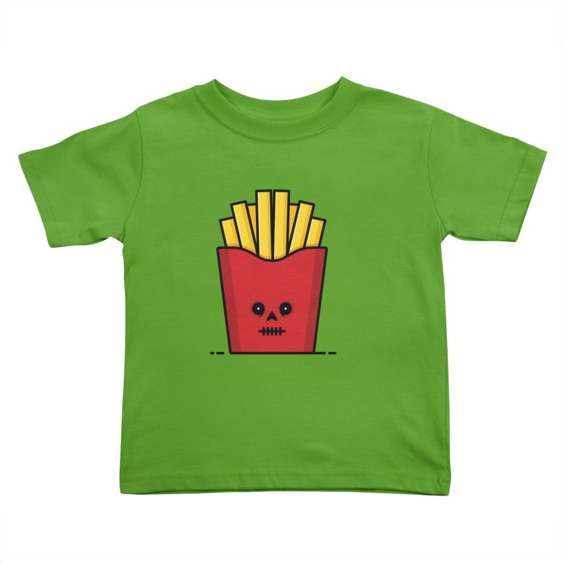 Fries Kids Toddler T-Shirt by Tony Bamber's Shop